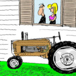 Tractor Life On The Funny Farm: Cartoon Caption Contest Winner – November 2011