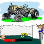 Tractor Life On The Funny Farm: Cartoon Caption Contest Winner – January 2012