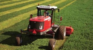 Hay conditioning can shave two to five days off drying time, helping maintain harvest cycles and ensuring top-quality hay. Here are four tips for proper conditioning. Photo: AGCO