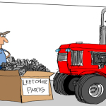 Tractor Life On The Funny Farm: Cartoon Caption Contest Winner – November 2014