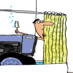 Tractor Life On The Funny Farm: Cartoon Caption Contest Winner – February 2015