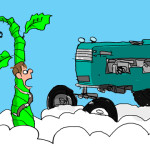Tractor Life On The Funny Farm: Cartoon Caption Contest Winner – February 2016