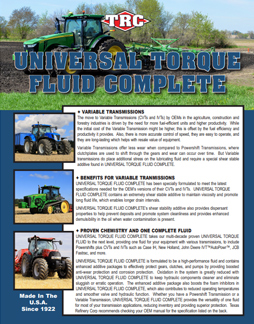 Tractor Life Authenticated Universal-Torque-Fluid-Complete